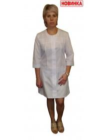Медицинский халат модель ХМ-45