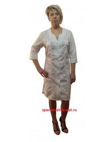 Медицинский халат модель ХМ-42