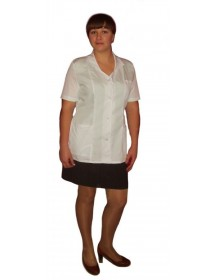 Медицинский халат модель ХМ-10