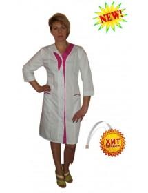 Медицинский халат модель ХМ-26