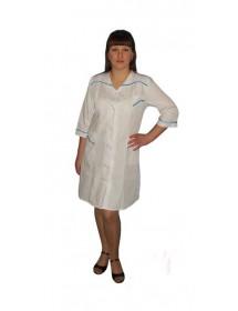 Медицинский халат модель ХМ-3