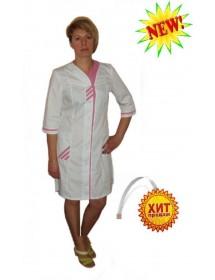 Медицинский халат модель ХМ-32
