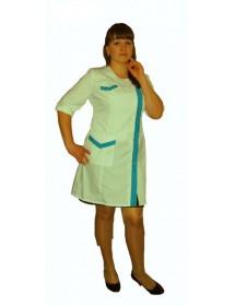 Медицинский халат модель ХМ-40